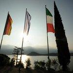 Internationale Begegnungsstätte mit Blick auf Bellagio