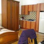 armadio e cucina