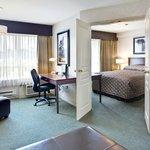 Sandman Hotel Langley Queen Suite