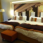 2 Double beds! Very comfy and geat pillows for a great night's sleep