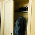 Full Closet with Iron/board Laundry basket