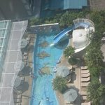 Kids pool from above