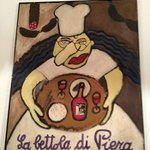 Dipinto dedicato alla Sig. Mirella, moglie di Piero.