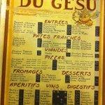 Fotografia de Restaurant du Gesu