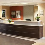 Our contemporary front desk