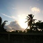 sunrise from the sun cabana porch