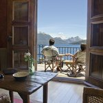 Vista desde balcon suite Lacre