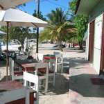 A la orilla de la playa de Bayahibe