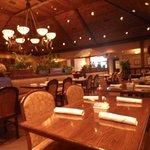Inside dining!
