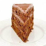 The cake that started it all, The Cherub. Milk chocolate cake with fudge frosting