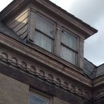 Rotted window frames