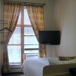 Room facing window
