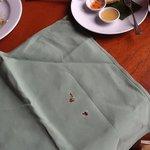 5 Star room service napkin