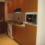 Kitchenette in entry