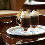 Irish Coffee...always a great choice.