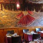 Inside the Khyber Pass restaurant