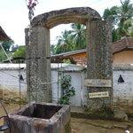 original entrance stone