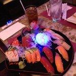 My boyfriend's sashimi!