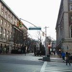Broadway street near hotel