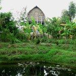 My hut at Ganesha Eco Lodge