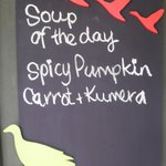 Soup of the Day Homemade and delicous
