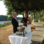 Beautiful setting for the bride and groom March 2013