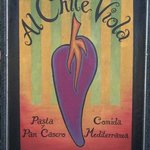 restaurante AL CHILE VIOLA very autentic italian food from the very italian owner chef