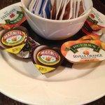 marmite and marmalade - :)