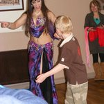 My grandson learning to dance
