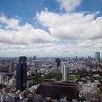 view from Seaside Top, Minato-ku Tokyo