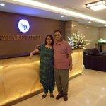 Reception of Hotel Skylark, Hanoi