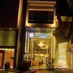 Night View of Exterior of Hotel Skylark, Hanoi