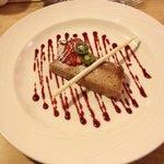 Chocolate & Hazlenut Parfait... Delicious