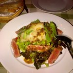 Grilled beef salad