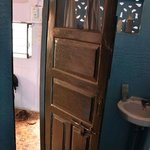 our room; bathroom