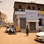 hotel Akash from the outside