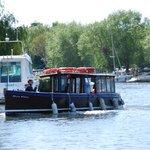 Ferry down to Hengistbury Head
