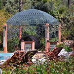 Domaine de la Roseraie, Ouirgane, Maroc, Main Pool & Kiosk