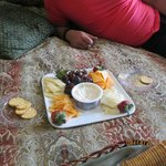 Cheese Tray in our suite.