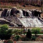 Massive waterfall system