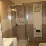 il bagno della camera verde...nuovo e pulitissimo!