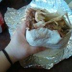 Dads big burrito