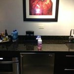 The kitchen area. Great for any lengthy stays.  Room 1510