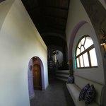 main hallway - wide angle lens