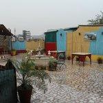 terrasse jour de pluie