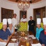 Taste of Eden cooking adventure with chefs John, Mauro and Guendal