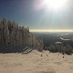 Ski magnifique decor