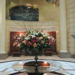 Flowers arrangements through the hotel - Great touch