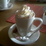hot chocolate worthy of a photo!