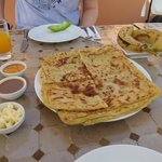 Moroccan style pancakes